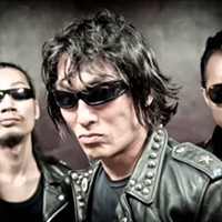 Guitar Wolf from Nagasaki, Japan play the 2016 Cooper Young Fest.