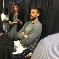 Marc Gasol talked at length about how challenging his rehab process has been.