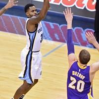 Troy Daniels is on fire the last few games.