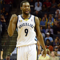 Tony Allen tied his career record for field goal attempts with 17 last night.