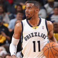 Mike Conley returned to action for the Grizzlies last night.
