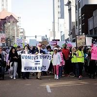 Women's March in Memphis