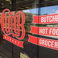Curb Market Opens Quietly in Crosstown