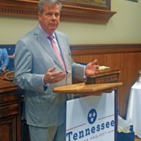 Karl Dean at Tennessee Voter Project event