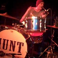Hunt Sales on the drums.