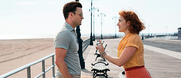 Justin Timberlake and Kate Winslet (right) star in Woody Allen's new film Wonder Wheel.