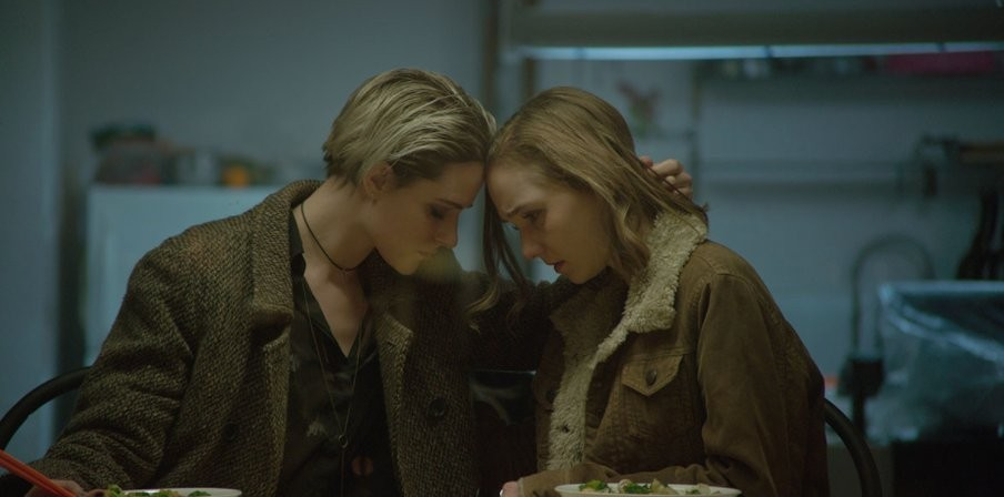 Evan Rachel Wood (right) and Julia Sarah Stone in Allure.