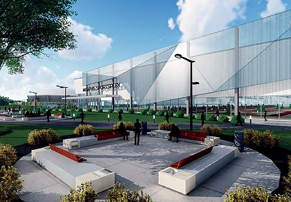 The youth sports complex proposal