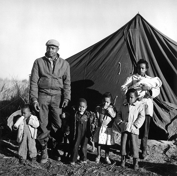 Operation Tent City, a major voting rights story from Fayette County that Withers covered for Ebony - © DR. ERNEST C. WITHERS, SR. COURTESY OF THE WITHERS FAMILY TRUST