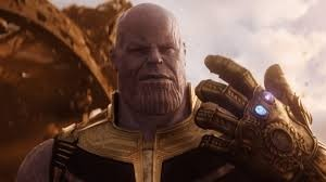 Thanos (James Brolin) seeks radical glove improvement. Also, genocide.