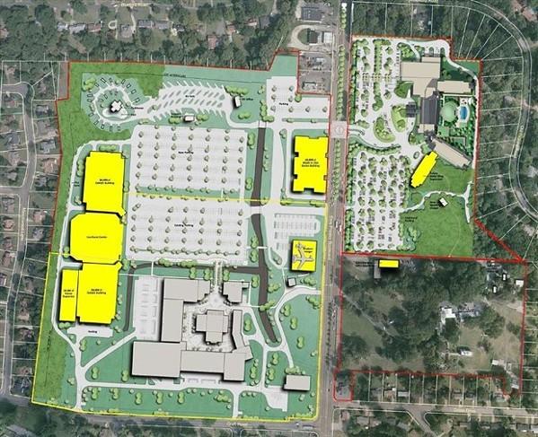 Layout of proposed expansion plan - ELVIS PRESLEY ENTERPRISE