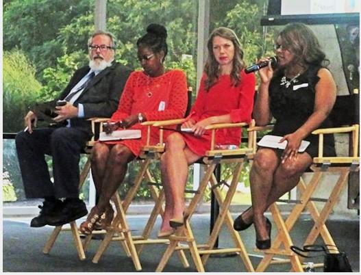 Board candidates, from left, Mike Kernell, Joyce Dorse-Coleman, Kori Hamner, Rhonnie Brewer - JB