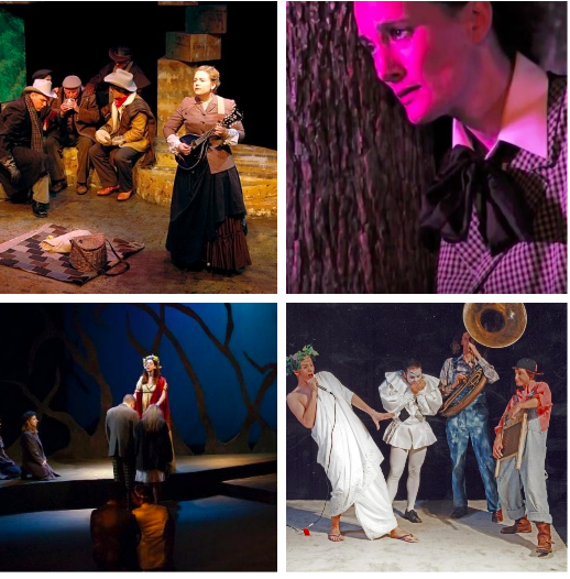 As You Liked It — Some past productions of Shakespeare's comedy show just how flexible it can be. Theatre Memphis, Tennessee Shakespeare's first production, Rhodes College, and Rhodes College.