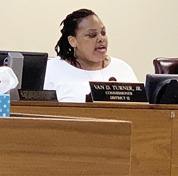Commissioner Tami Sawyer