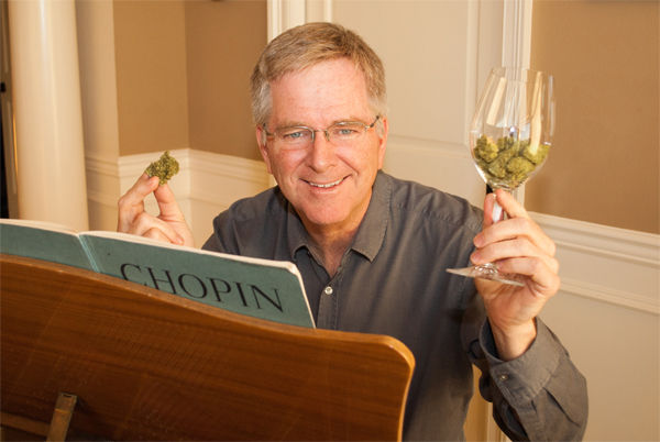 In honor of Tuesdays' House hearing on cannabis, NORML board member Rick Steves will match donations to the organization this week. - NORML/FACEBOOK