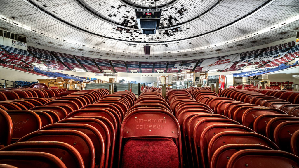 Inside the Mid-South Coliseum - FACEBOOK/COLISEUM COALITION