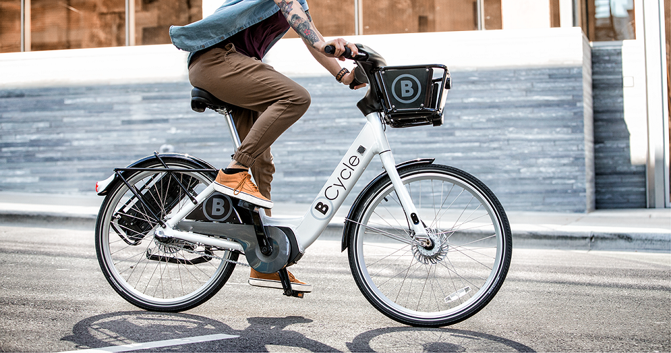 BCycle rolled out e-bikes last year - BCYCLE