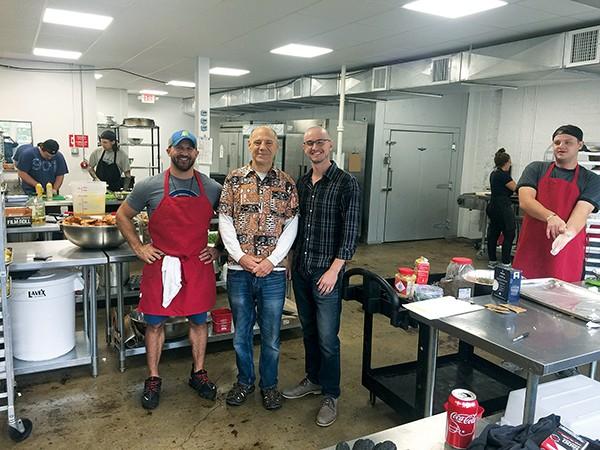 Other Foods' Richard McCracken, Steve Cantor, and Evan Katz - MICHAEL DONAHUE