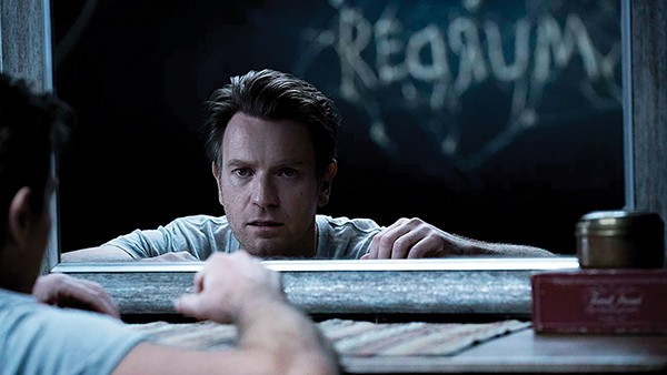 Ewan McGregor (above) plays an older Danny Torrance plagued by alcoholism and PTSD.