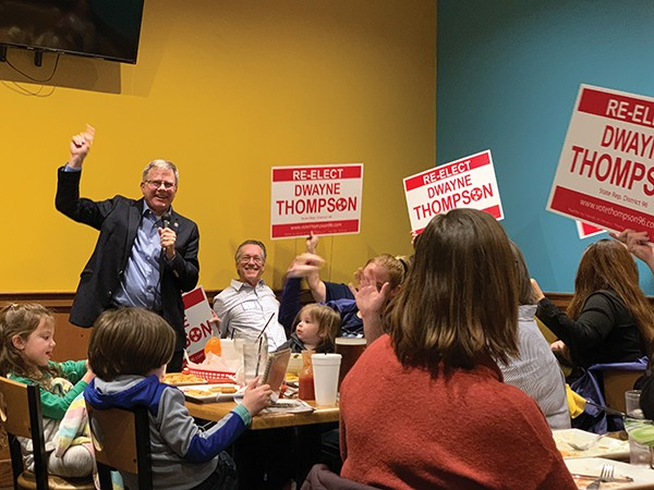 As the 2020 session of the Tennessee General Assembly prepared to open in Nashville this week, supporters of District 96 Democratic state Rep. Dwayne Thompson gave him a send-off Sunday night at Tekila Mexican Bar & Grill.