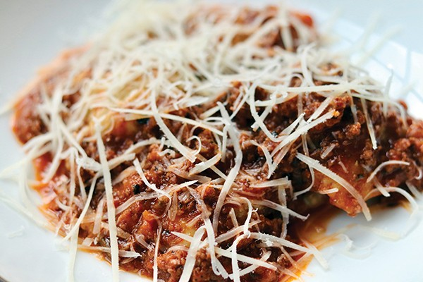 Maw Maw's ravioli from the team of Andrew Ticer and Michael Hudman