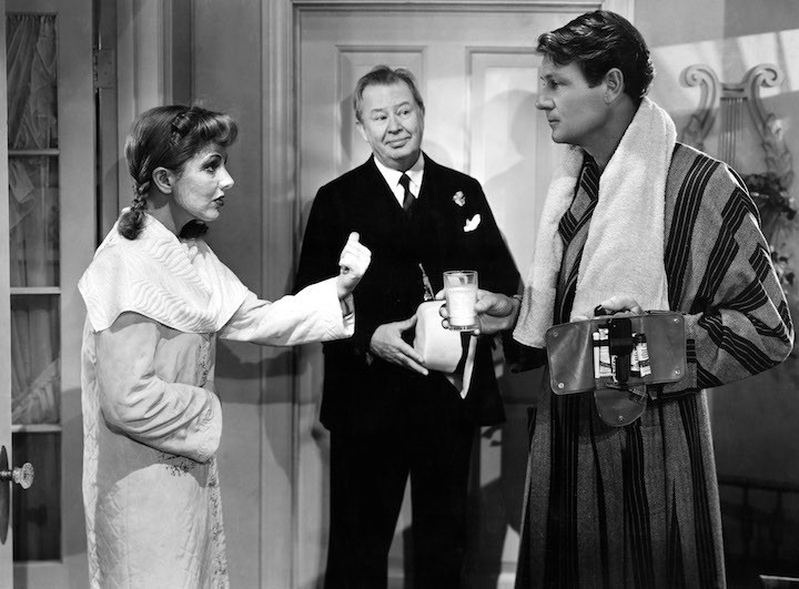 Jean Arthur, Charles Coburn and Joel McCrea in The More the Merrier.