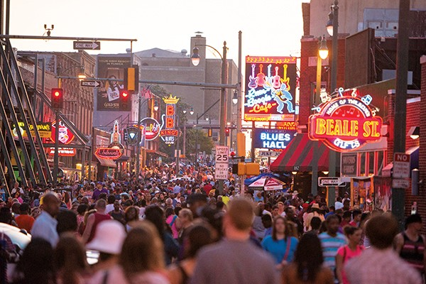 Beale Street has long been Tennessee's No.1 tourist destination.