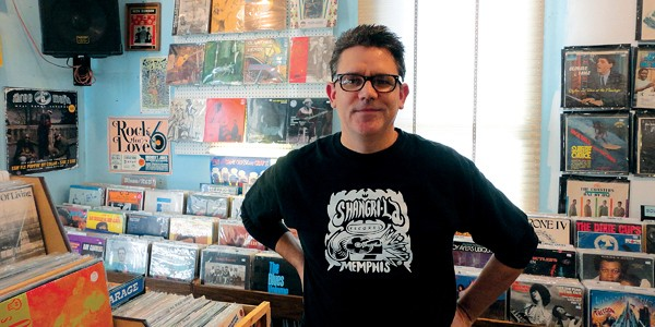 Jared McStay, co-owner of Shangri-La Records - J.D. REAGER