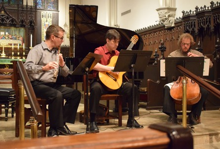 Performance at the Belvedere Chamber Music Festival. - LUNA NOVA MUSIC