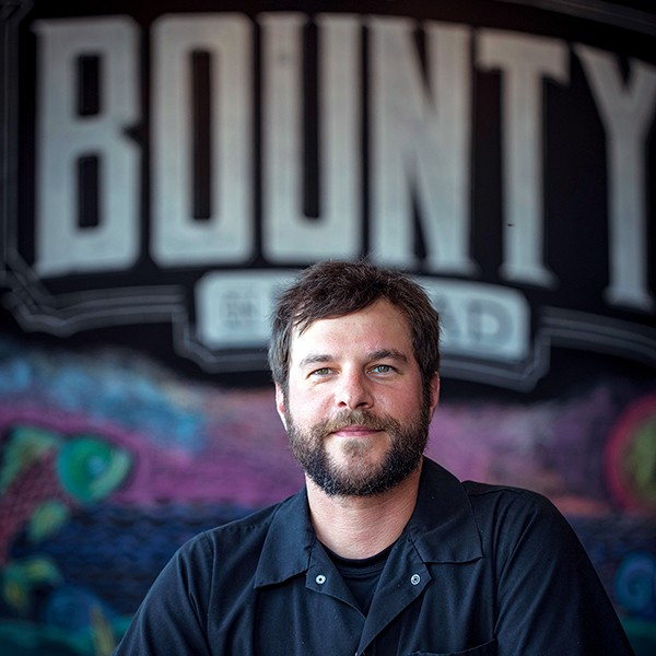 Bounty on  Broad executive chef Russell Casey