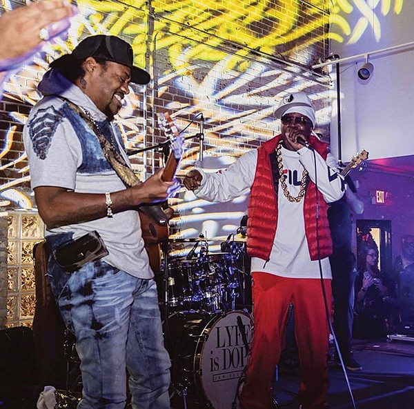 """Eric Gales (left) collaborated with Al Kapone on """"Dead and Gone."""" - PHOTOGRAPHS COURTESY OF AL KAPONE"""