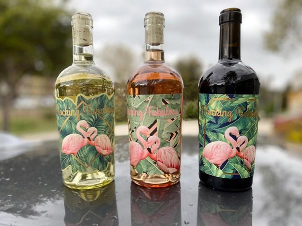 Michaela Dockery's new wines are just Flocking Fabulous.