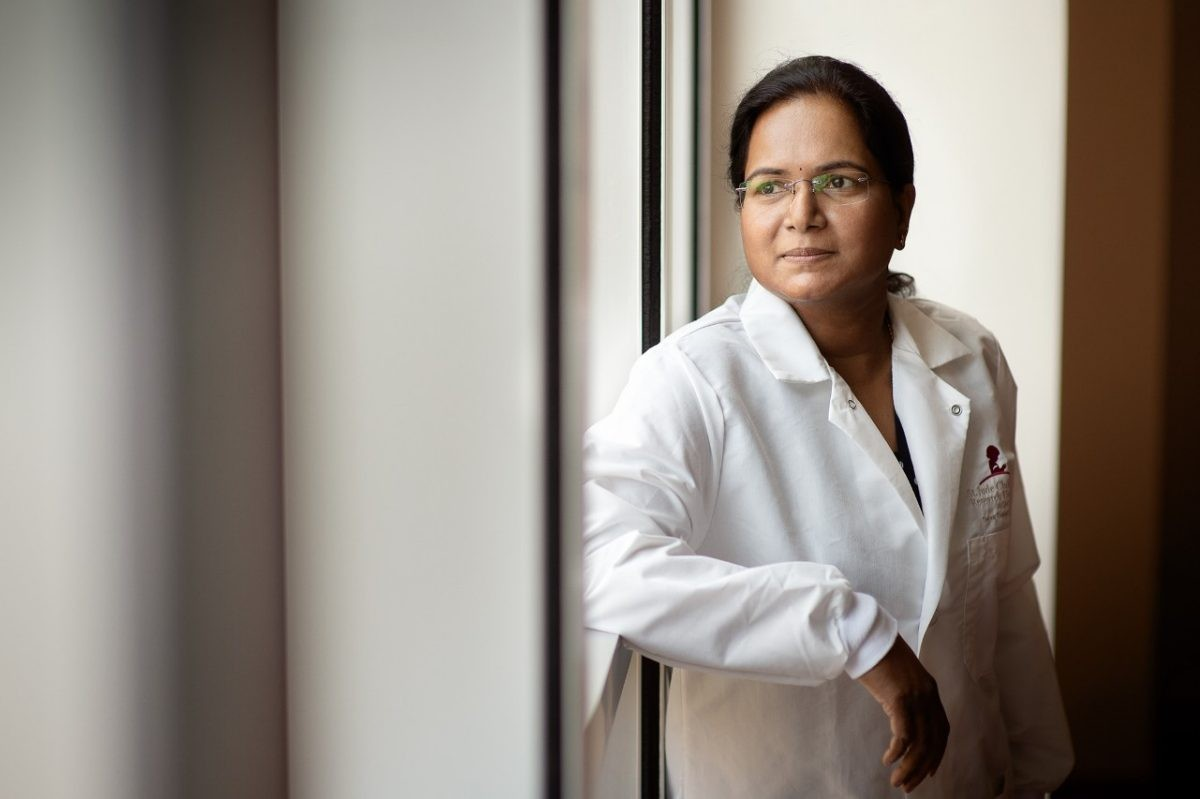 Thirumala-Devi Kanneganti vice chair of St. Jude Immunology.- ST. JUDE CHILDREN'S RESEARCH HOSPITAL