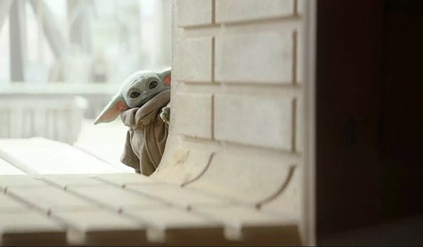 Grogu, aka The Child, aka Baby Yoda