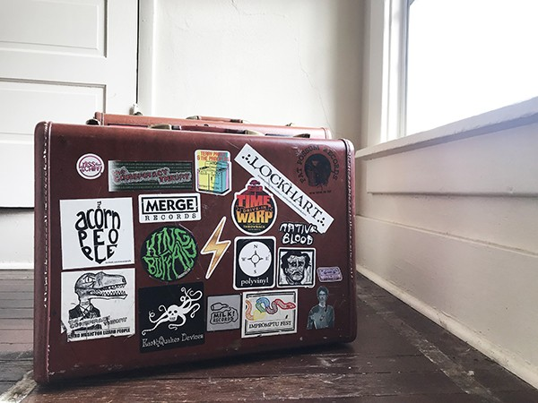 Can our hopes for the year fit in a suitcase? - JESSE DAVIS