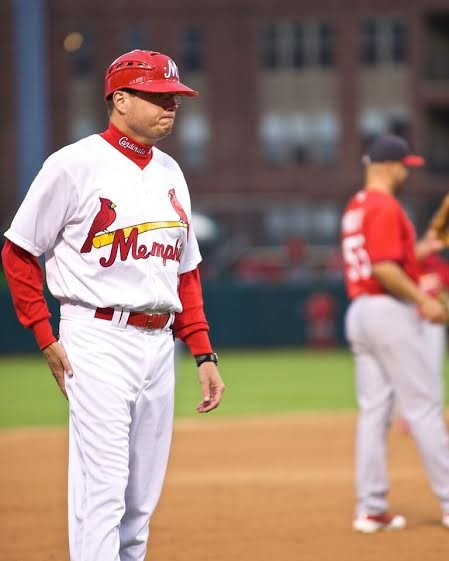 Redbirds manager Mike Shildt.
