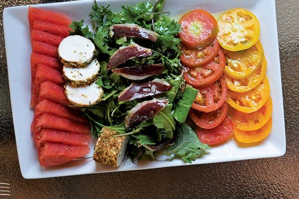 watermelon salad - JOHN KLYCE MINERVINI