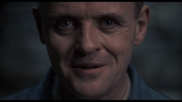 Anthony Hopkins as Hannibal Lecter in Silence Of The Lambs