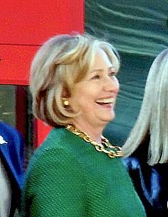 Clinton in Memphis last year - JB