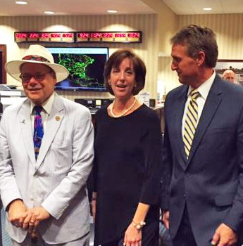 Cohen (l) in Havana last August  with Assistant Secretary of State Roberta Jacobson and Senator Jeff Flake (R-AZ)
