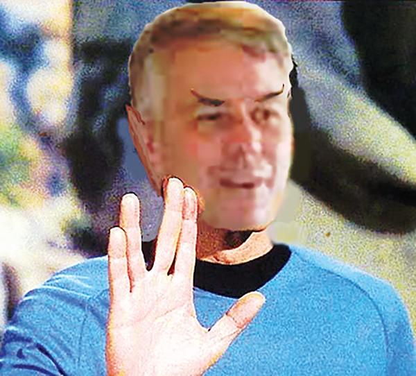 Ur-Trekkie Steve Mulroy - JACKSON BAKER