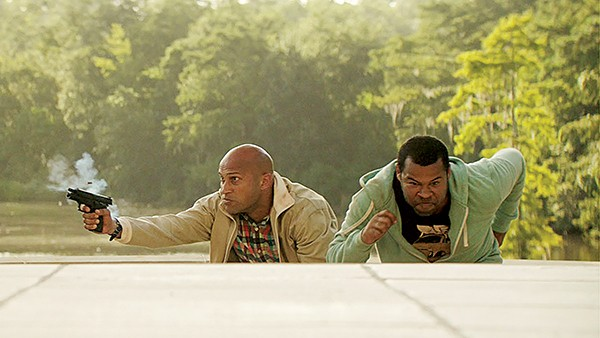 It's Keanu, starring Keegan-Michael Key and Jordan Peele and an adorable kitten named Keanu.