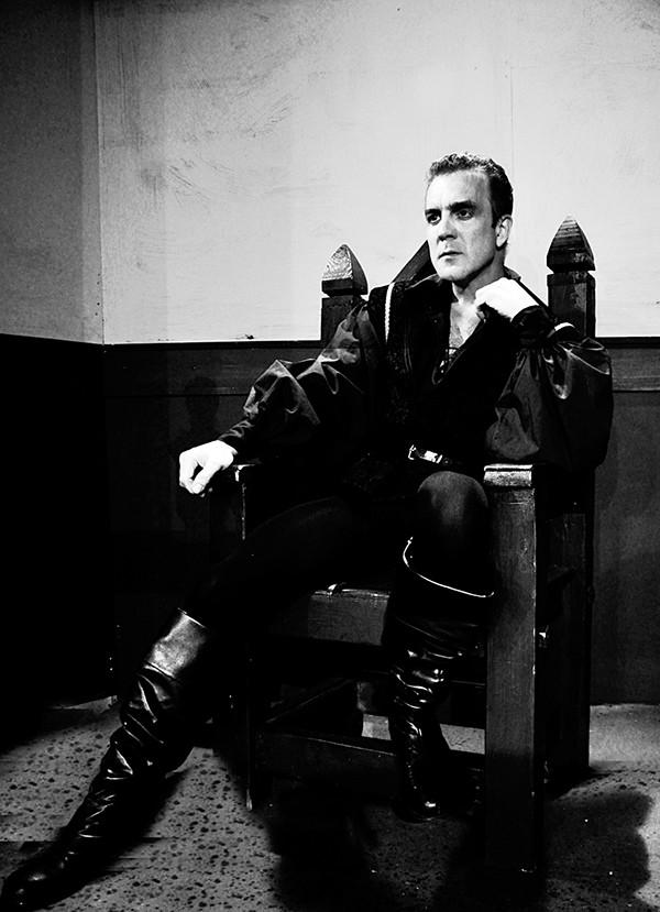 Hamlet — a man in tight pants