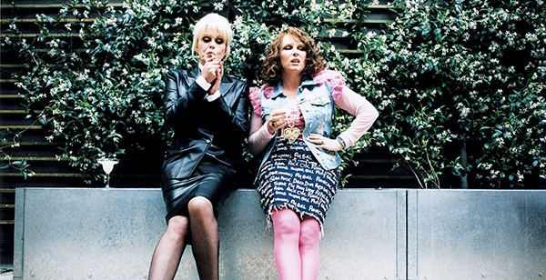 Joanna Lumley (left) and Jennifer Saunders are still guilty of being Absolutely Fabulous.