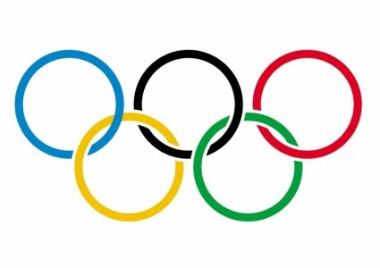 We can't run any pics from the Olympics, so here's the rings.