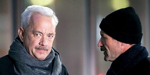 Tom Hanks and Aaron Eckhart