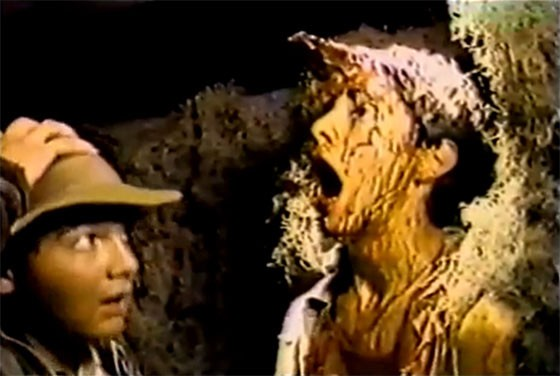 12-year-old Chris Stromopolos (left) starring in Raiders of the Lost Ark: The Adaptation