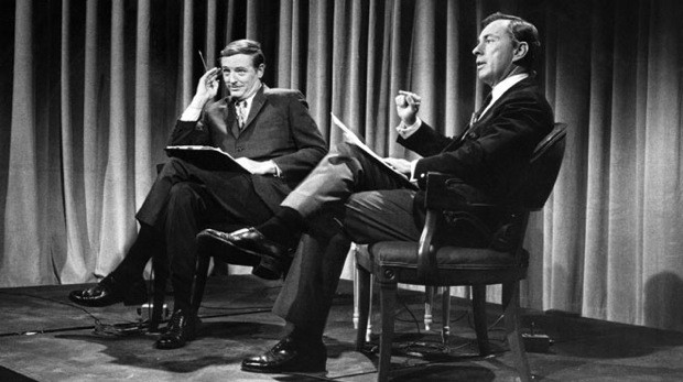 William F. Buckley and Gore VIdal in Best of Enemies
