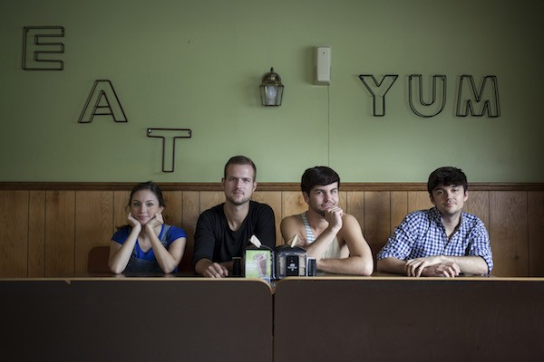 Leah Beth Bolton, Chase Brother, Seth Daneil, and Jordan Nichols in Feral. - BREEZY LUCIA