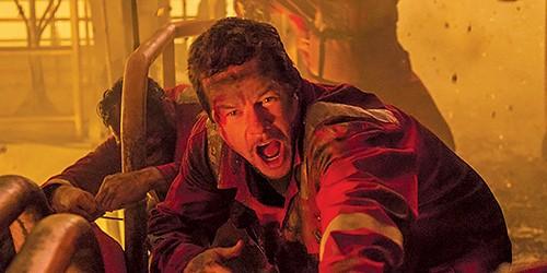 Smoke on the water — Mark Wahlberg plays the hero in Peter Berg's Deepwater Horizon.
